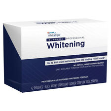 Crest3D Professional Supreme Whitening Strips -5,10,15,20 pouches -Teeth Kit