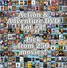 Action & Adventure DVD Lot #1: DISC ONLY - Pick Items to Bundle and Save!