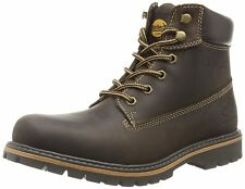 Dockers by Gerli Men's Shoes Boots 35CA001-400360 Choco Leather Lace Up