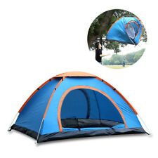 Outdoor Double 2 Persons Camping Tent Automatic Single Layer Beach Sunshade