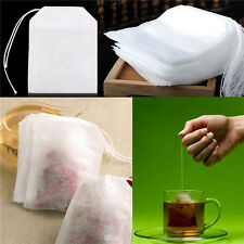 Empty TEABAGS Non-Woven String Heat Seal Filter Paper Herb Loose Tea Bag