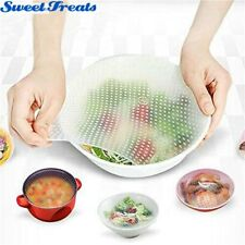 Reusable Silicone Food Wraps Seal Cover Stretch Multifunctional Food