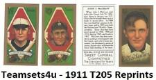 1911 T205 Reprints Baseball Set ** Pick Your Team **