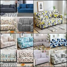 24 Colors Slipcover Stretch Sofa Seater Protector Couch Covers 1/2/3/4 Furniture