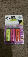 Sharpie Clear View Highlighters, 3 Pack, Yellow, Pink And Orange