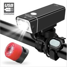 Bike Lights Front And Back USB Rechargeable