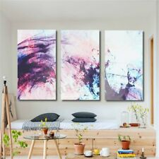 3Pcs Abstract Modern Canvas Print Art Oil Painting Poster Home Wall Decor