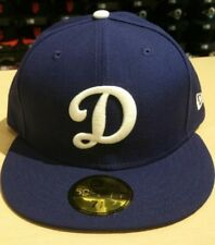 New Era MLB Los Angeles Dodgers D Logo Team Royal 59FIFTY Cap Hat NewEra