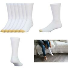Men'S Crew 656 Athletic Sock Gold Toe Cotton Stretchable Comfortable 6 Pack
