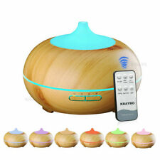 Remote Control 300ml Air Humidifier Essential Oil Diffuser Aroma Lamp Electric