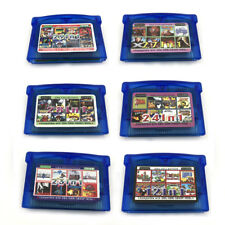 Multi cart For GBA Nintendo NDSL Video Game Boy Advance Mario Zelda Mega Man