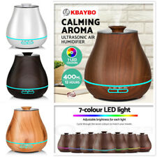 Aroma Diffuser Oil Ultrasonic Mist LED Air Humidifier Purifier Aromatherapy New