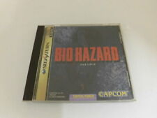 Z4153 Sega Saturn Biohazard Japan SS