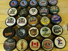 American Hockey League Hockey Pucks / Hockey Night in Canada / Hall of Fame