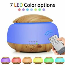 300mL Essential Oil Diffuser Aromatherapy Oil Humidifier, 7 LED Light Colors