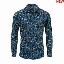 Luxury Long Sleeve Casual Dress Shirts Slim Fit Mens New Fashion Stylish Casual