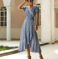 Sundress Boho Dress Evening Maxi Summer Floral Party Cocktail Long Women's Beach