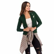 Casual Outwear Womens Sweater Coat Long Sleeve Knitted Cardigan Jacket Slim Fit