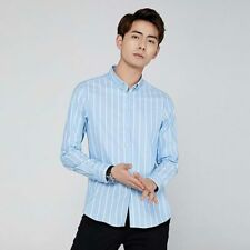 Fashion Stylish Shirt Dress Shirts Casual Luxury Slim Fit Long Sleeve Tops Men's