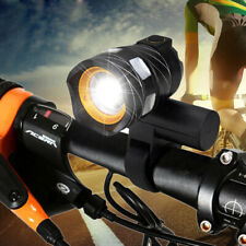 USB Rear Bicycle Lamp Rechargeable 15000LM XML T6 LED ZOOM Front Head light CA