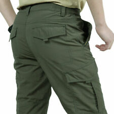 Men Light Weight Tactical Work Combat Quick Dry Cargo Hiking Outdoor Cargo Pants