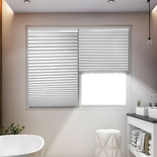 6 Pack Paper Pleated Shade 36'' x 72'' Window Blind Sun UV Block Blackout Light