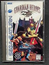 Reproduction Guardian Heroes (Saturn) Full Manual, Aftermarket Case, No Disc