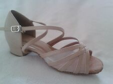 Ladies Latin Dance Shoes Line Salsa Jive WCS UK 3 - 8