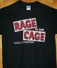 """New T Shirt MMA """" RAGE IN THE CAGE """" Sz Sm - 5XL"""