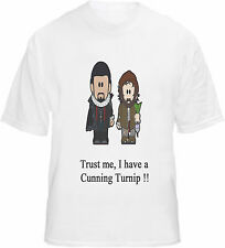 Blackadder Baldrick T-shirt Cartoon Cunning Plan Turnip
