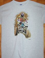 "New Gray T Shirt  ""4 WHEELER MUDSLING""  Sz SM - 5XL"