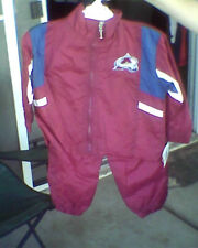 Colorado Avalanche Windsuit Jacket Pants NWT 2T 3T 4T Outfit Wind Suit