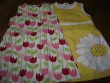 NWT Gymboree Girls Tip Toe Tulip,Sunshine Daydream Yellow Daisy Shift Dress sz 3