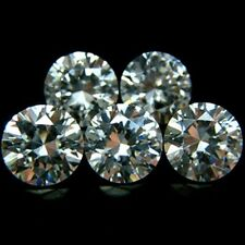 Round 8mm AA Cubic Zirconia White CZ Stone Lot