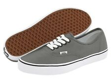 NEW VANS AUTHENTIC PEWTER BLACK GRAY ORIGINAL SO GREAT