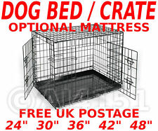 Dog Puppy Folding Car boot CAGE Bed Carry Transporting