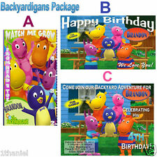 Backyardigans Birthday Banner, Growth Chart or Invitation Personalized Design