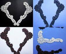 3 SET'S VENISE LACE APPLIQUE RAYON TRIM~3 /COLORS