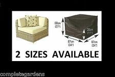 Rattan Garden Furniture Modular Corner Unit Premium Polyester Cover