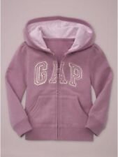 NEW GAP PURPLE SPARKLY LOGO HOODIE SIZE 12-18-24M 2T 3T 4T 5T