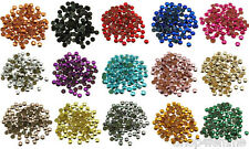 Loose Metal Studs lot of Hot Fix Iron on 5mm, 16 Colors to choose from