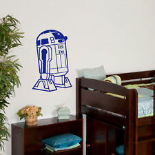 LARGE STAR WARS R2 D2 R 2 D 2  BIG CHILDRENS BEDROOM WALL MURAL STICKER TRANSFER