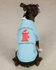 Fire Hydrant Don't Pee on Me Dog T-Shirt Tee NEW Casual Canine Top  XXS - L