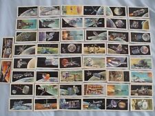 BROOKE BOND TEA CARDS:THE RACE INTO SPACE:BUY INDIVIDUALLY NO's 26 TO 50 INCL.