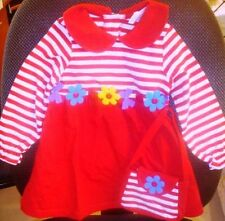NEW MACY'S BUSTER BROWN GIRLS TODDLER DRESS SIZE 2T 3T 4 4T 5 5T 6 6X +PURSE