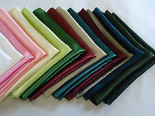 Cheap Discounted Affordable and Reasonable 100% Silk Men's Pocket Squares