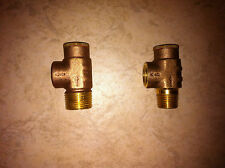 "NO LEAD Brass Pressure Relief Valve Water Well Tank Submersible Pump 1/2"" & 3/4"""