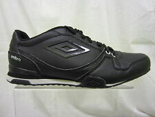 Mens Umbro Lace Up Trainer, Synthetic, Black/Cloud, Gremio-A