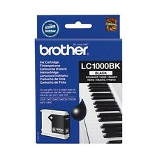Genuine Brother LC1000BK Black Ink Cartridge for DCP MFC Fax Printers
