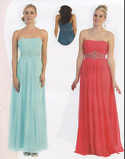 FLATTERING BRIDESMAIDS COCKTAIL DRESS HOMECOMING EVENING FORMAL GOWN PARTY 4~26